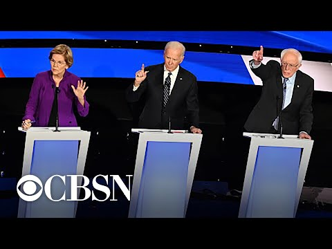 Democrats debate gender in politics, sexism and war during Iowa debate