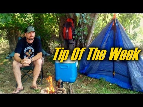 "5 Cool Camping Tips & Tricks – ""Tip Of The Week"" (E21)"