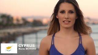 Maria Moraru Contestant from Cyprus for Miss World 2016 Introduction