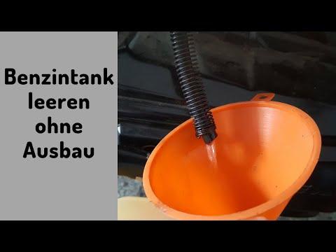 Roller - Benzin ablassen ohne den Tank auszubauen | RollerFix