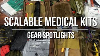 Scalable Medical Kits - Every Day Carry to Full Trauma Bags