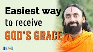 The Easiest Way To Receive God's Grace || God Realization || Swami Mukundananda