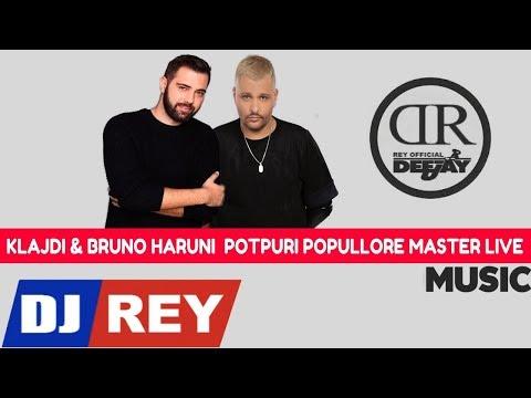 Klajdi & Bruno - Potpuri Popullore Master Live Dj Rey