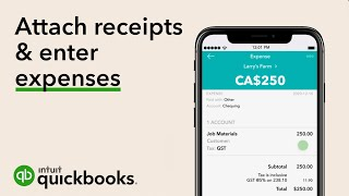 How to Attach Receipts Using Your Mobile Phone