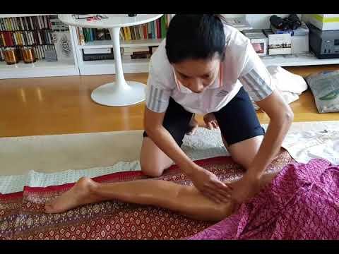 สอนนวดไทย นวดน้ำมัน EP.1 Thai oil massage