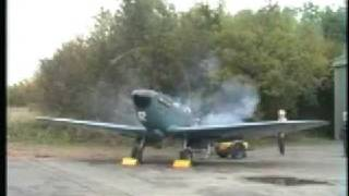 preview picture of video 'MARK HANNA SPITFIRE PR MK XI PL965  ROCHESTER 26TH OCTOBER 1992'