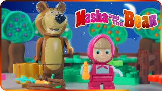 ♥ Masha and the Bear (Маша и Медведь) Garden of Stolen Carrots