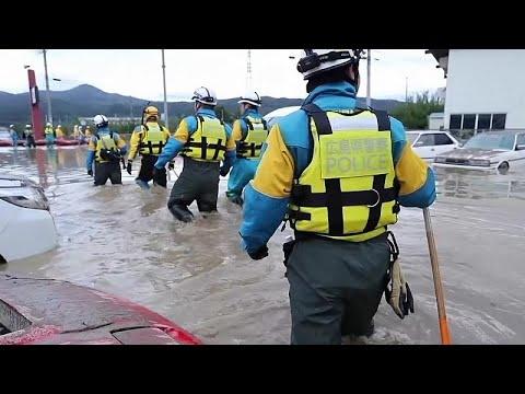Ιαπωνία: Συνεχίζονται οι έρευνες για αγνοούμενους του τυφώνα Χαγκίμπις…