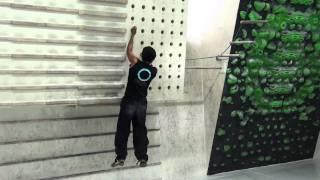 Peg board climbing part 2
