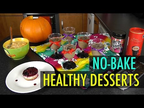 Video No-Bake Healthy Desserts (Weight Loss Recipes)