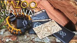 How to Build a Sustainable Fire! WAZOO SURVIVAL GEAR
