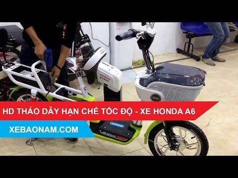 Hướng dẫn tháo dây tốc độ xe đạp điện Honda A6