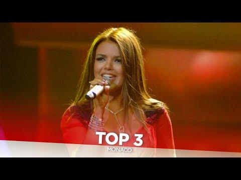 Monaco in Eurovision - My Top 3 (2004-2006)