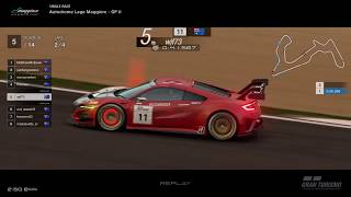 Gran Turismo™SPORT - Autodrome Lago Maggiore GP II Honda NSX Gr3 (online race)