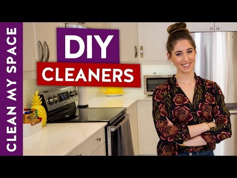 5 Simple DIY Cleaners! Healthy & Non-Toxic Cleaning Products For Your Home!