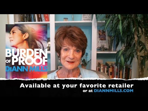 DiAnn Mills talks about her characters in Burden of Proof