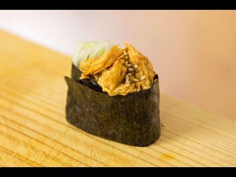 Teriyaki Gunkan-maki Sushi Recipe