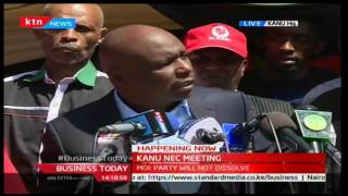 Gideon Moi addresses his relationship with Deputy President William Ruto