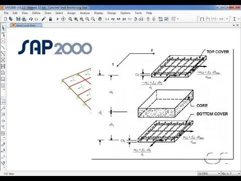 Concrete Shell Reinforcement Design