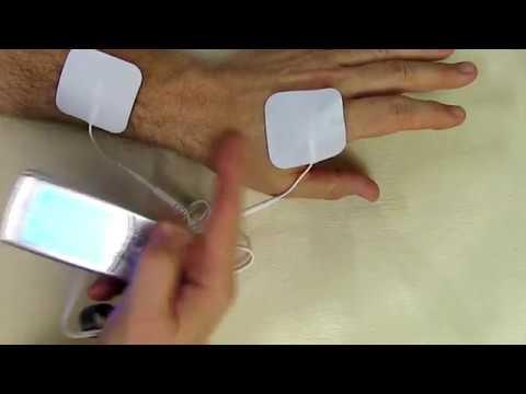 AUVON Rechargeable TENS Unit Muscle Stimulator 16 Modes