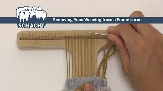 Removing Your Weaving From A Frame Loom