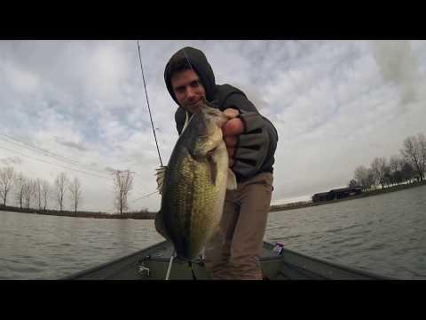 La pesca sul lago a lungo la regione di Leningrado