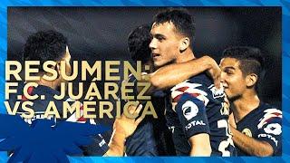 FC Juárez 1-1 Club América | Resumen - Todos los Goles | Jornada 11 - Liga MX | Apertura 2019