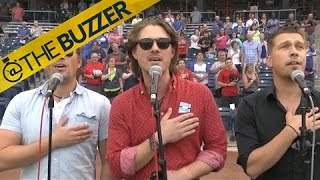 Remember Hanson? Well they crushed the national anthem at a minor league baseball game by @The Buzzer