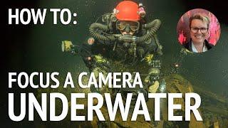 Scuba Tips: How to Focus an Underwater Camera in Dark Water