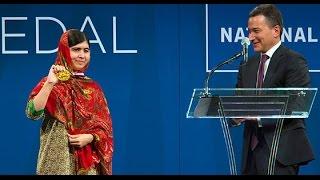 Malala Yousafzai Accepts the 2014 Liberty Medal