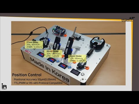 Mini Linear Servo Actuator MightyZap