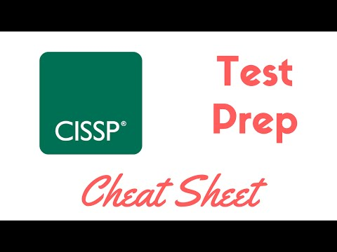 CISSP Complete Test Prep & Cheat Sheet - YouTube
