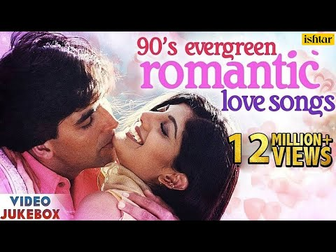 Download 90's Evergreen Romantic Love Songs | Top 21 Bollywood Hindi Songs | VIDEO JUKEBOX HD Mp4 3GP Video and MP3