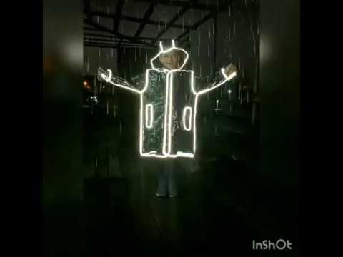 Дощовик-плащ YES зі світловідбиваючим кантом, розмір S