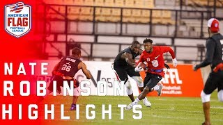 Nate Robinson's Flag Football Highlights! | NFL