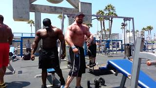 SUPERMUTANTS Gabe Moen, Ron Partlow & Renaldo Gairy take over The Muscle Beach Pit