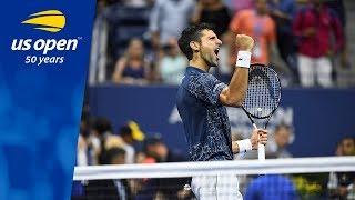 2018 US Open Top 5 Plays: Novak Djokovic