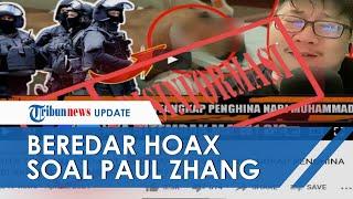 Beredar Video Hoaks Jozeph Paul Zhang Ditembak Mati karena Melawan saat Ditangkap, Begini Faktanya