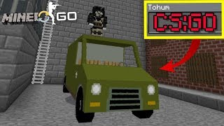 Minecraftta CS GO Seedi - Eğlenceli Video (Minecraft PE Seed)