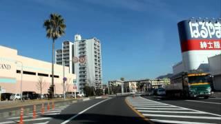 国道31号線・安芸郡坂町平成が浜~広島市安芸区矢野西・大浜交差点