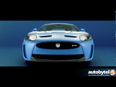 Jaguar XKR-S Sports Car Video -- Limited Edition Coupe