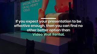 What are the Benefits of LED Video Wall Rentals in Dubai?