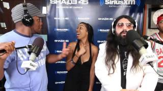 Friday Fire Cypher: Speakz Spazzes on Sway in the Morning | Sway's Universe