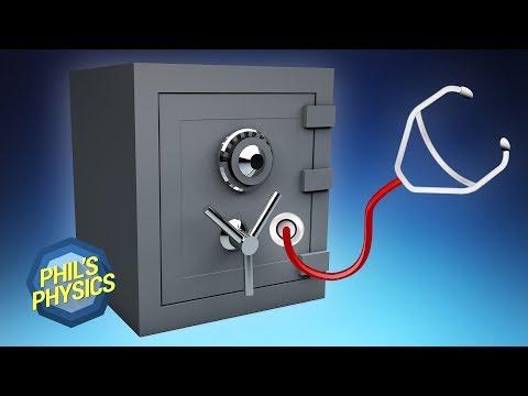 Schloss knacken mit Stethoskop? Tresor öffnen leicht gemacht | Phil's Physics