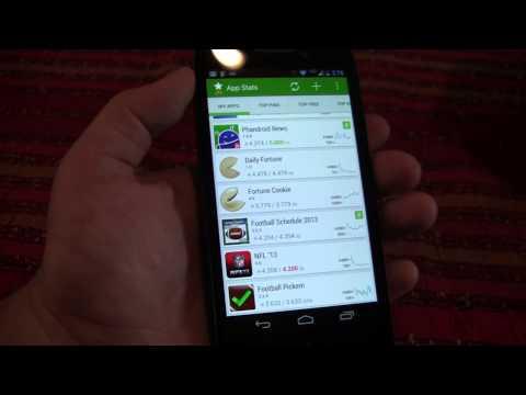 Video of App Stats (beta)