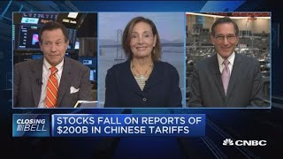 Closing Bell Exchange: China trade tensions loom on market