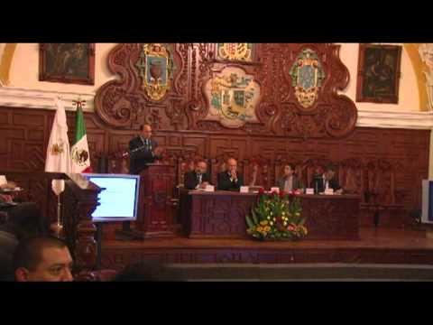 Firma del Programa Estatal de Cooperación (PEC) Lic. Luis Fernando Graham