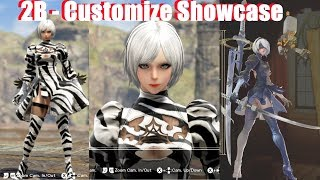 Soul Calibur 6 - 2B All Customization Options (CAS Nier Automata Character Creation)