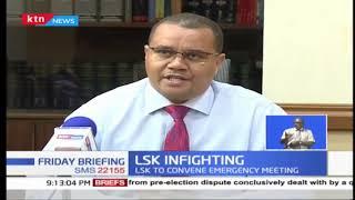 LSK convenes emergency meeting to review Prof. Ojienda, Irungu over  JSC post