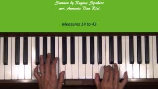 Samson By Regina Spektor Piano Tutorial SLOW